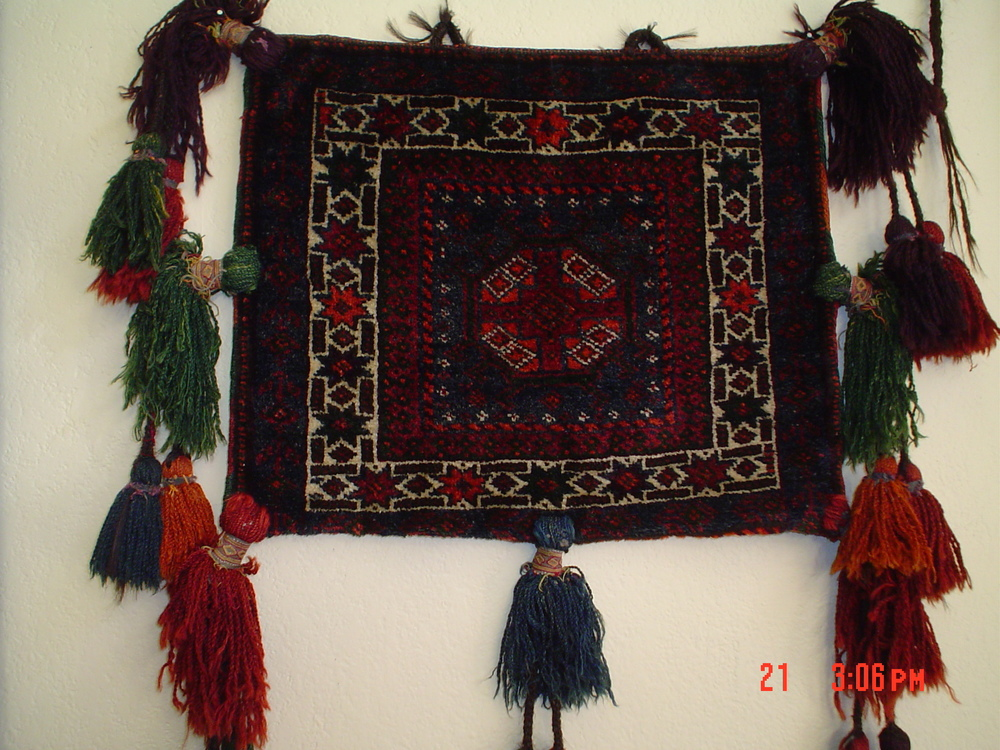#16: Incredible Old Balouch bag. Love the tassels!