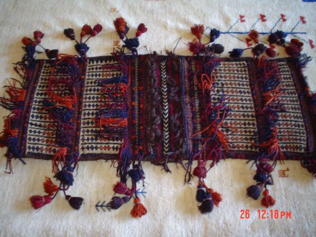 #18: Enchanting old saddle bag from Afghanistan.