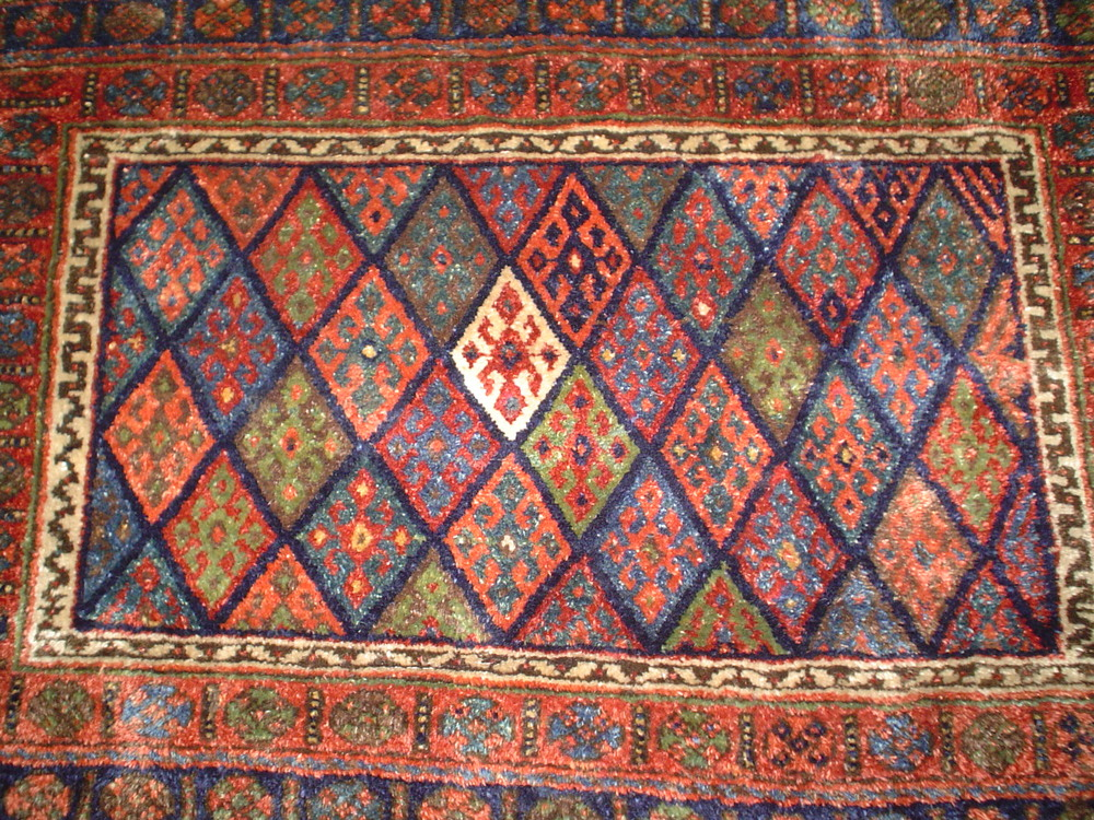 "#28: Antique Jaff Kurd, 2' 5"" x 3' 10"", Iran"