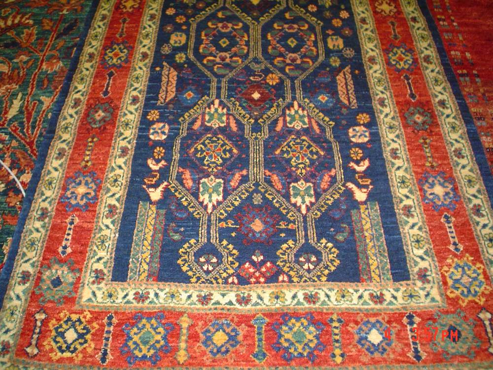 #30: 3 x 5 Persian tribal rug. Khamsehbaf. Sold.