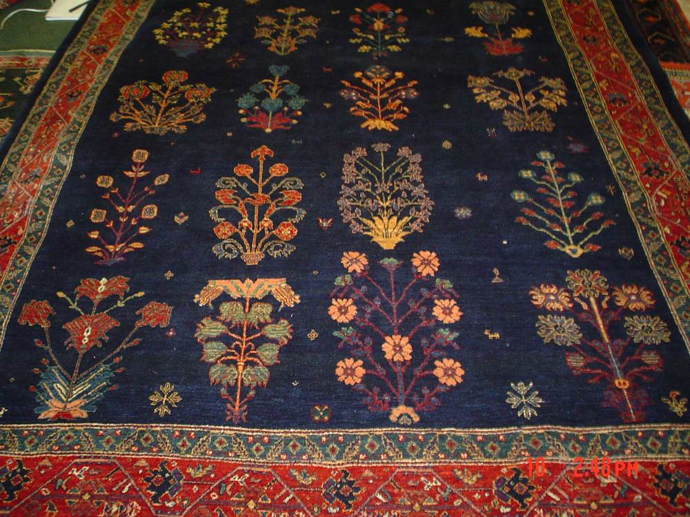 #33: 6.9 x 9.5 world class Persian tribal rug. Qashqai. Sold.
