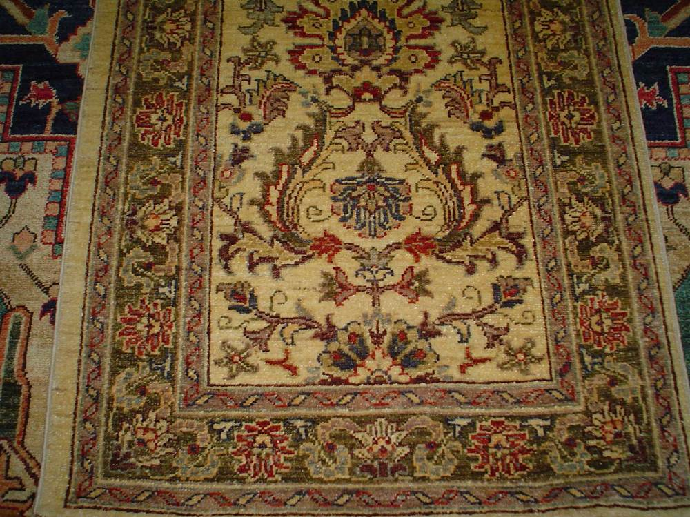 #5) Beautiful 10ft. floral runner. Afghanistan.