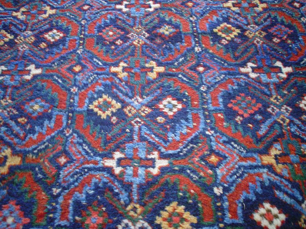 #31) 4 x 5 Antique Afshar rug. Early 20th Century, full pile in great condition.