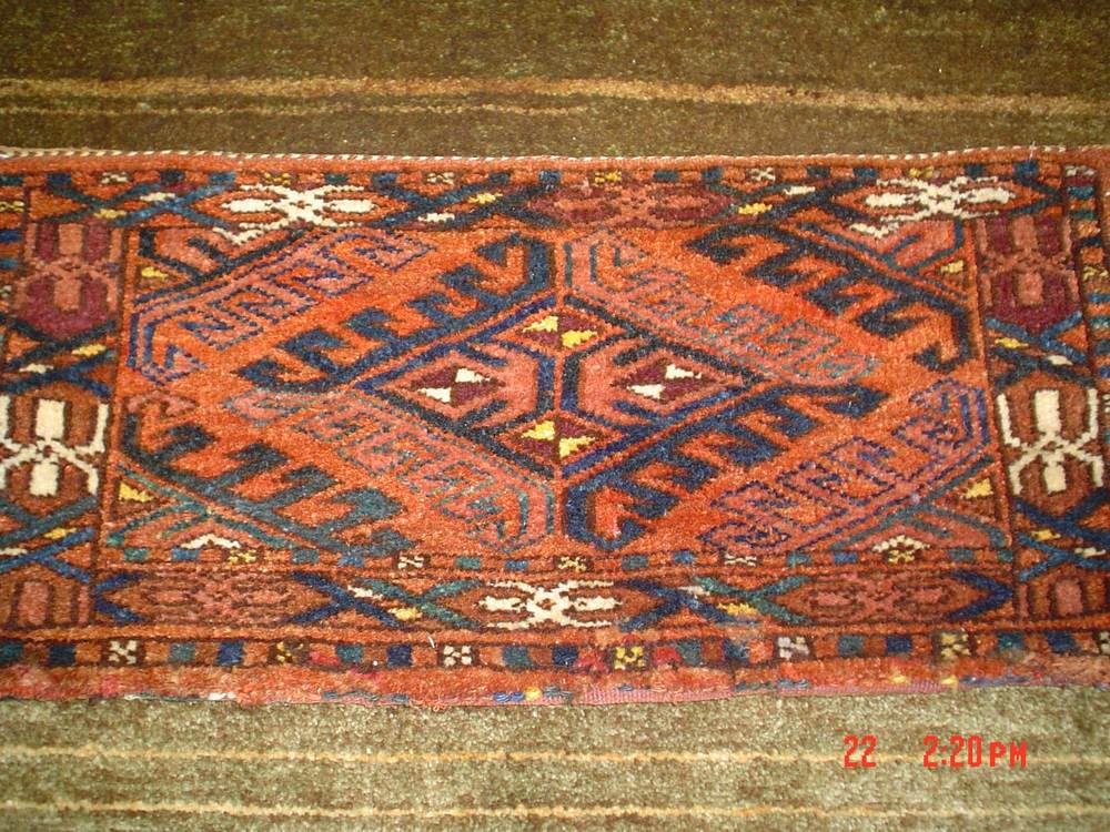 #34) OLD Turkoman Torba(storage bag) Great condition and very pretty!