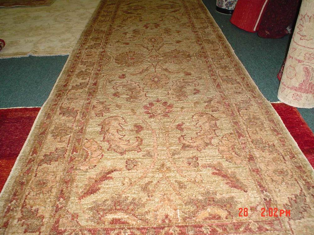 #48: Lovely soft tones, Ariana runner. 12 plus feet.