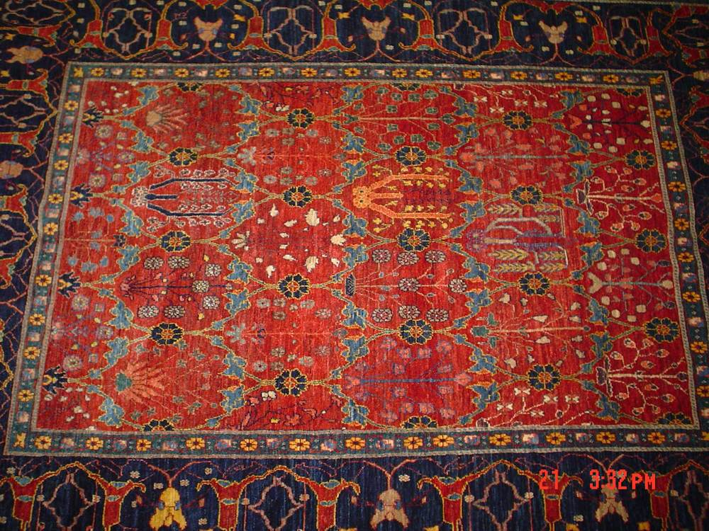 #12: World's most beautiful Qashqai rug, ever! 6 x 8. Sold.
