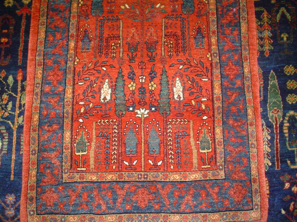 "#26: Persian Bijar. 2'5"" x 3'4"" Sold."