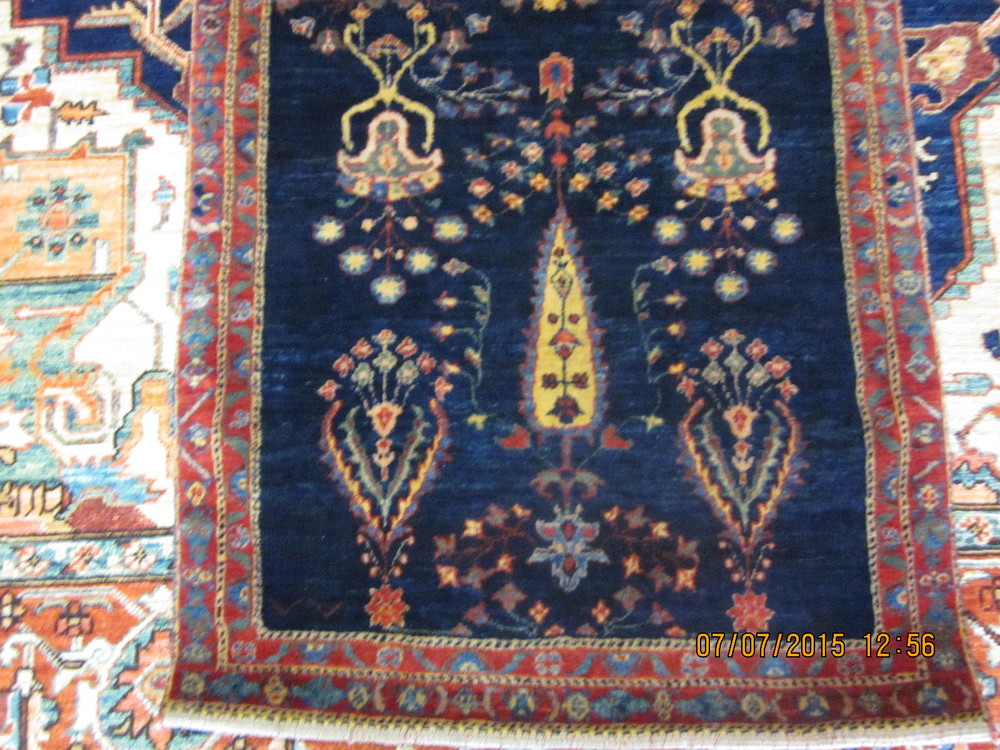 "#29) 2'7"" x 9'5"" Luri runner in gorgeous jewel tones."