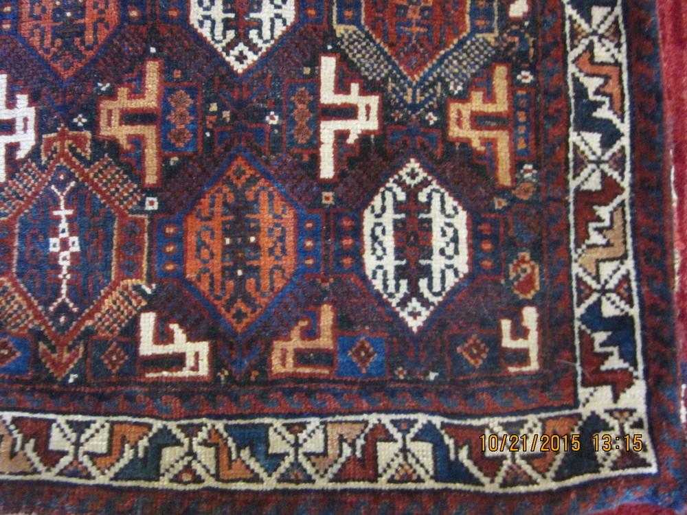 Persian antique saddlebag.