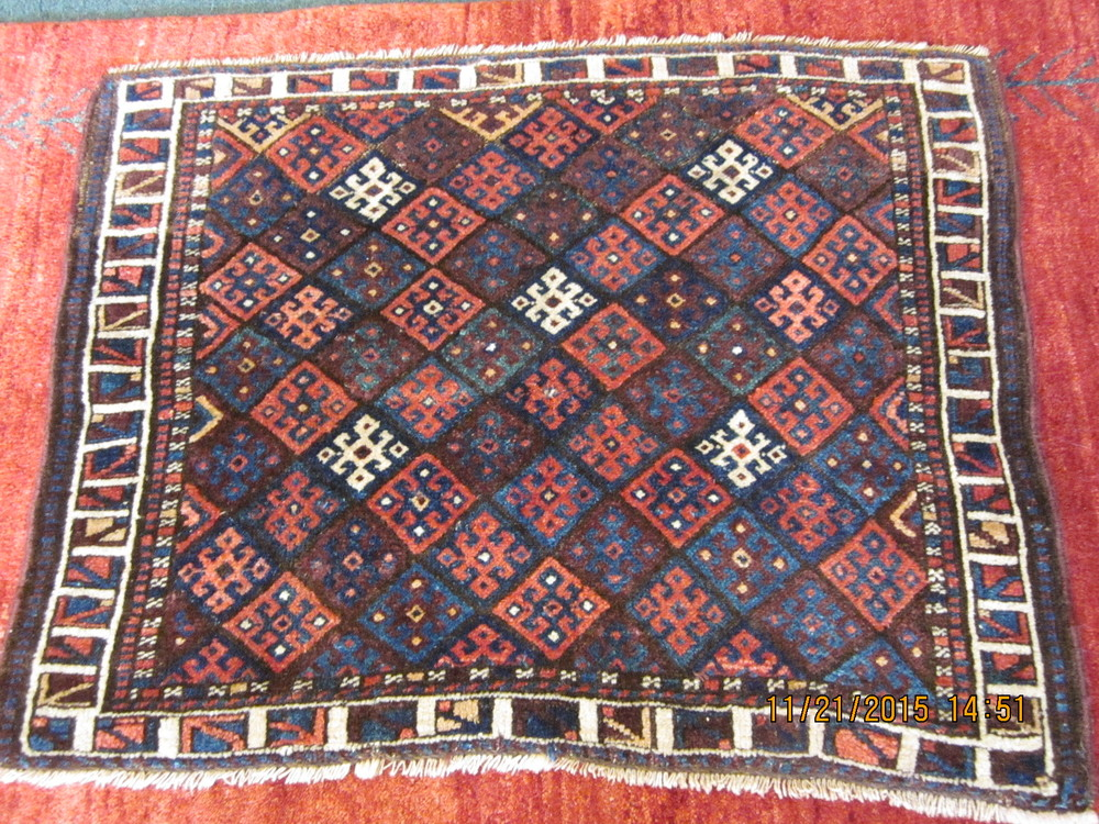#39) Antique Jaf Kurd Mafrash Panel