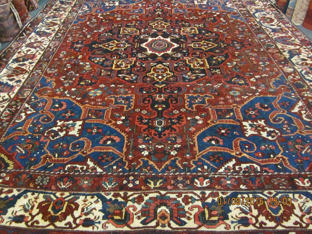 """#34) Gorgeous antique Bakhtiari 11' x 14"""" in remarkable condition. Please call for price."""