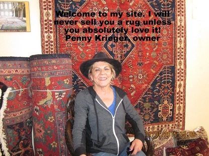 Penny at Paradise Oriental Rugs