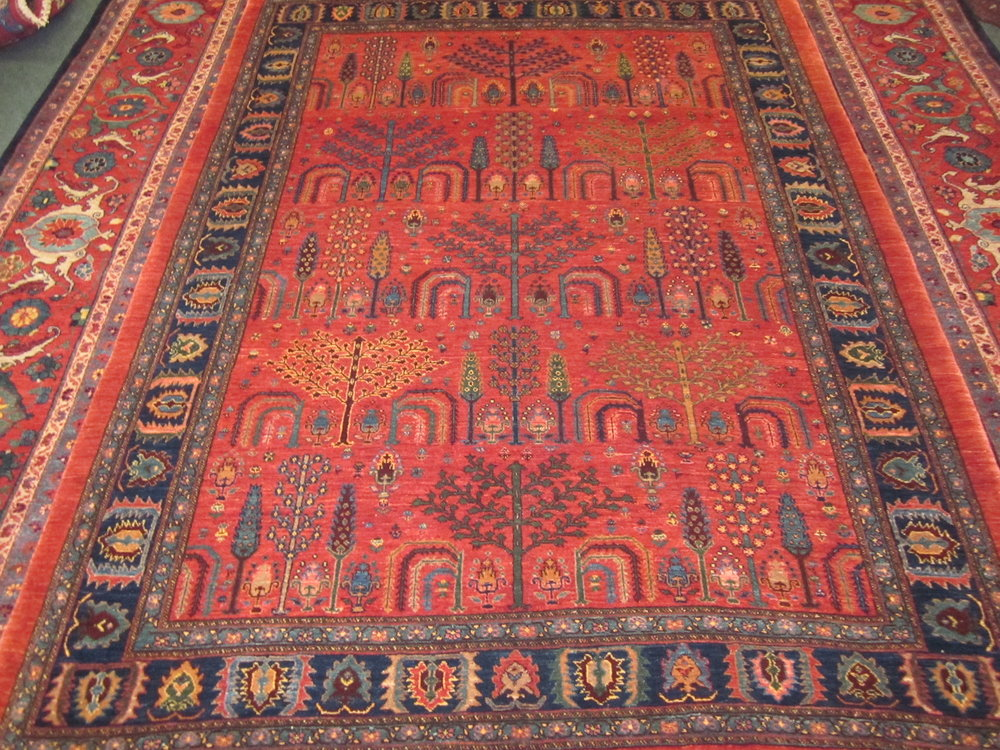 Gorgeous 6 x 8 Perisan Tribal rug.