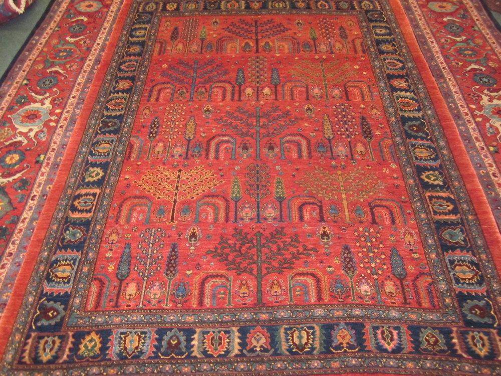 Gorgeous 6 X 8 Perisan Tribal Rug.