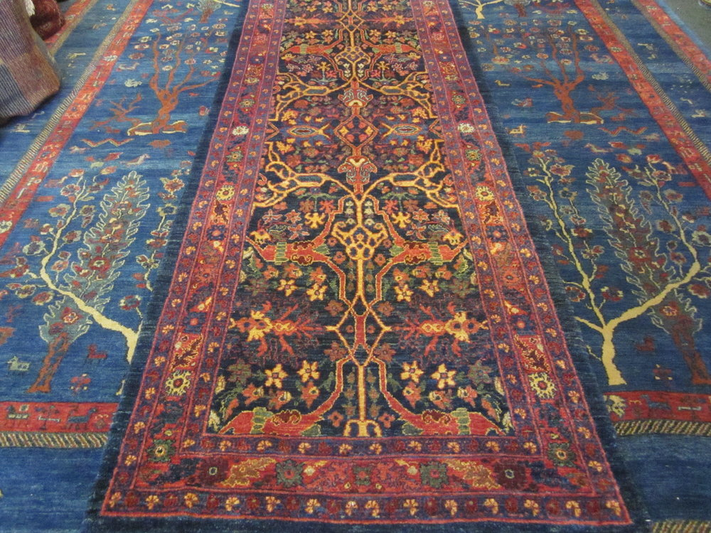 "2'9"" x 7'7"" Bijar runner. Sold."