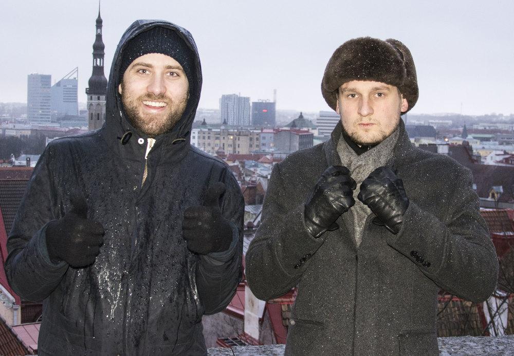 Grilli Type's founders Theirry Blancpain & Noël Leu