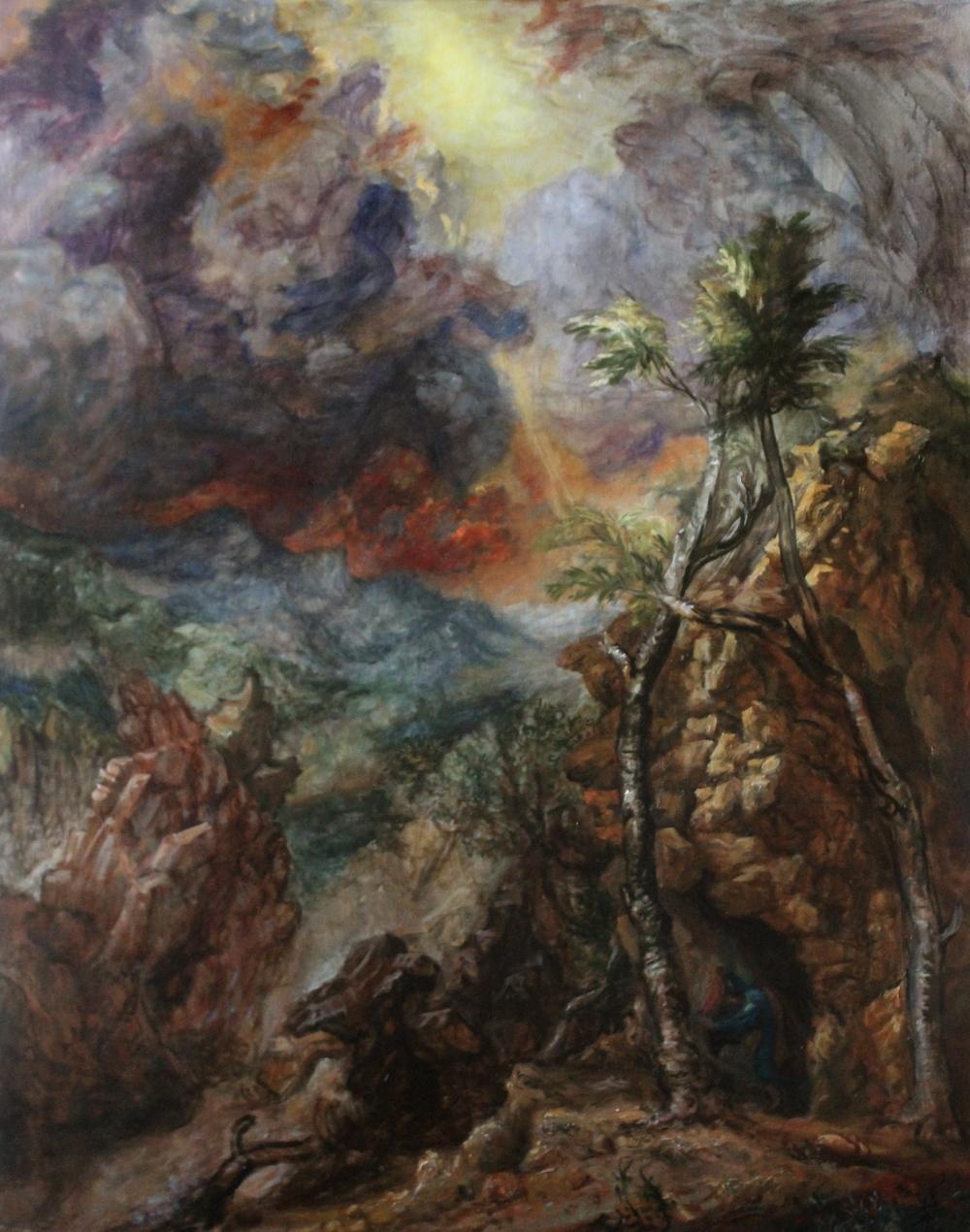 Elias on Mount Horeb