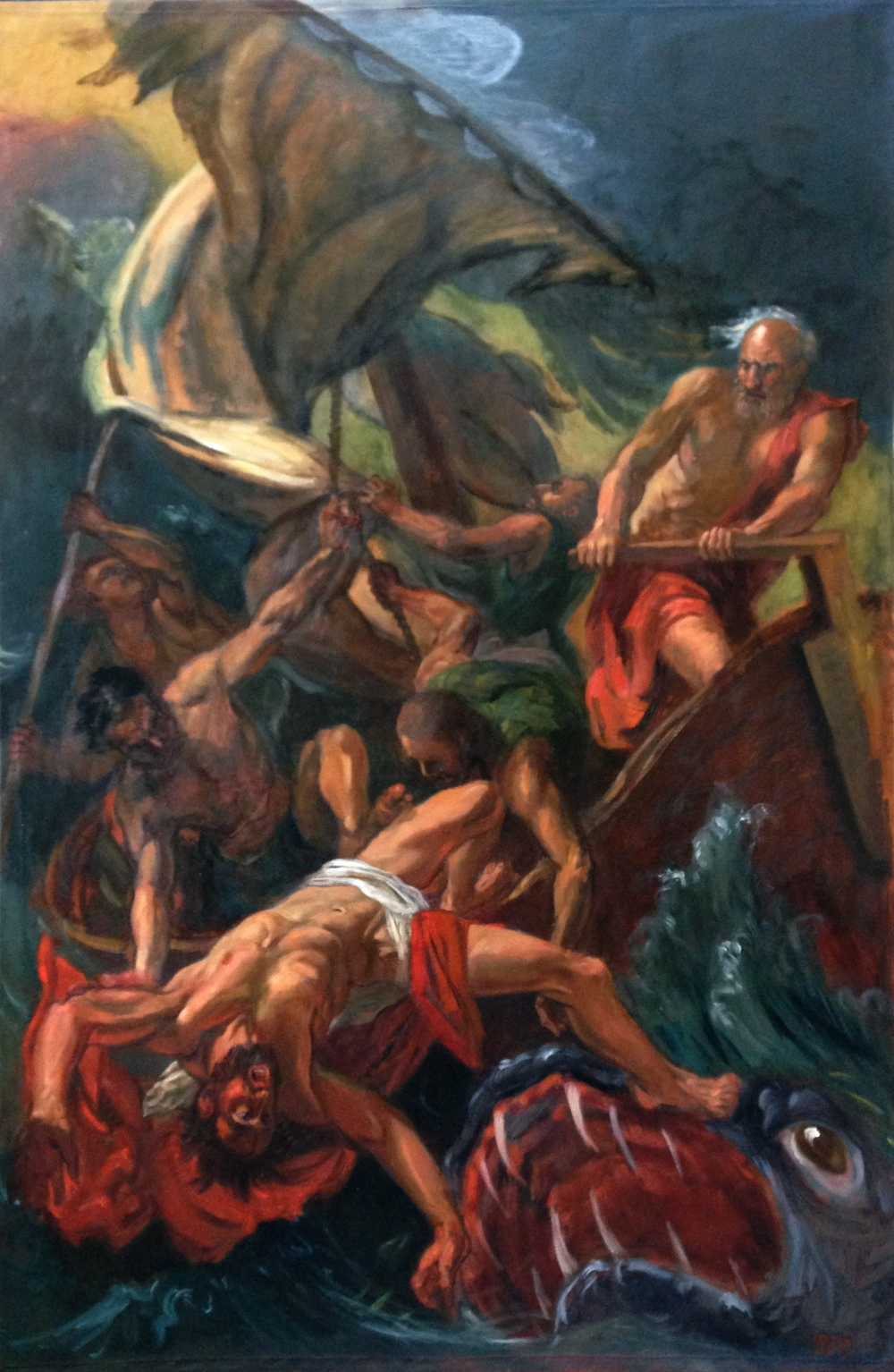 Jonah Cast into the Sea