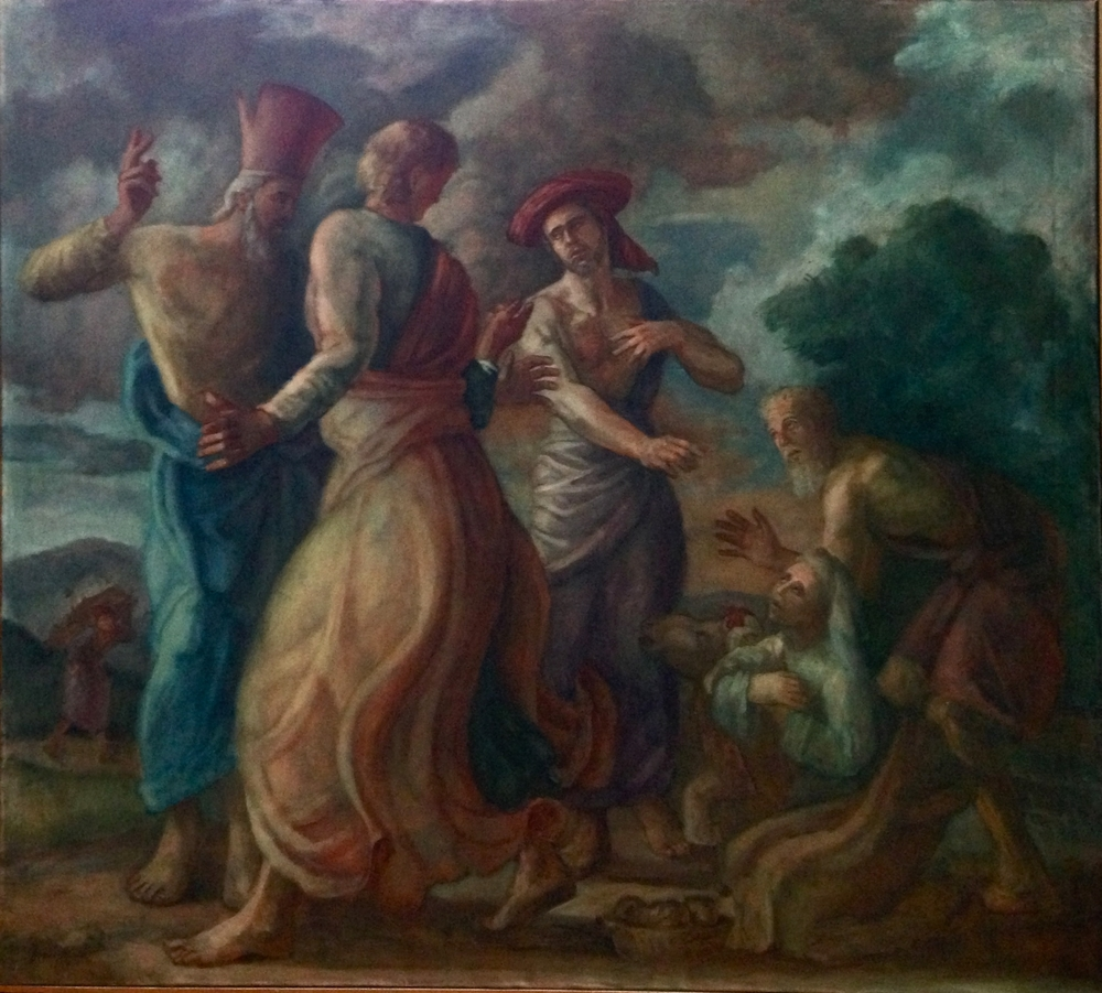 Abraham and Sarah with the Three Angels