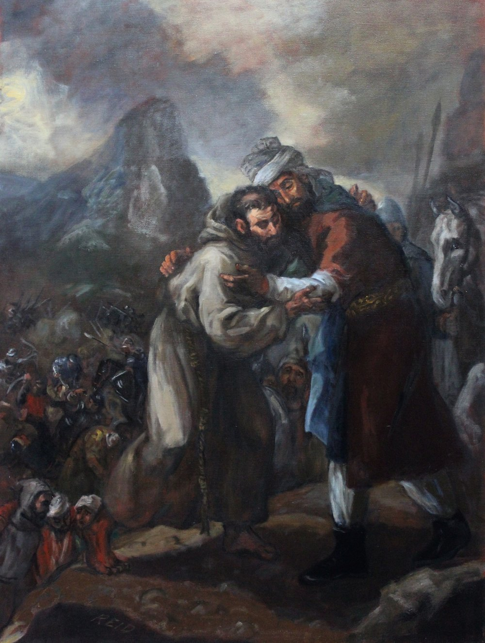 The Meeting of Saint Francis and Sultan al-Kamil