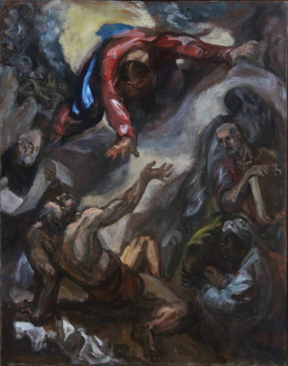 Job (Then the Lord spoke to Job out of the whirlwind)