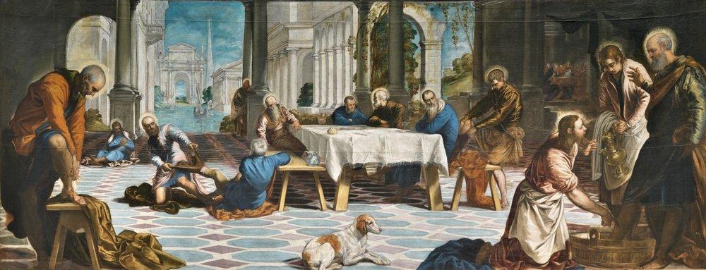 Tintoretto, Washing of Feet, Prado.jpg