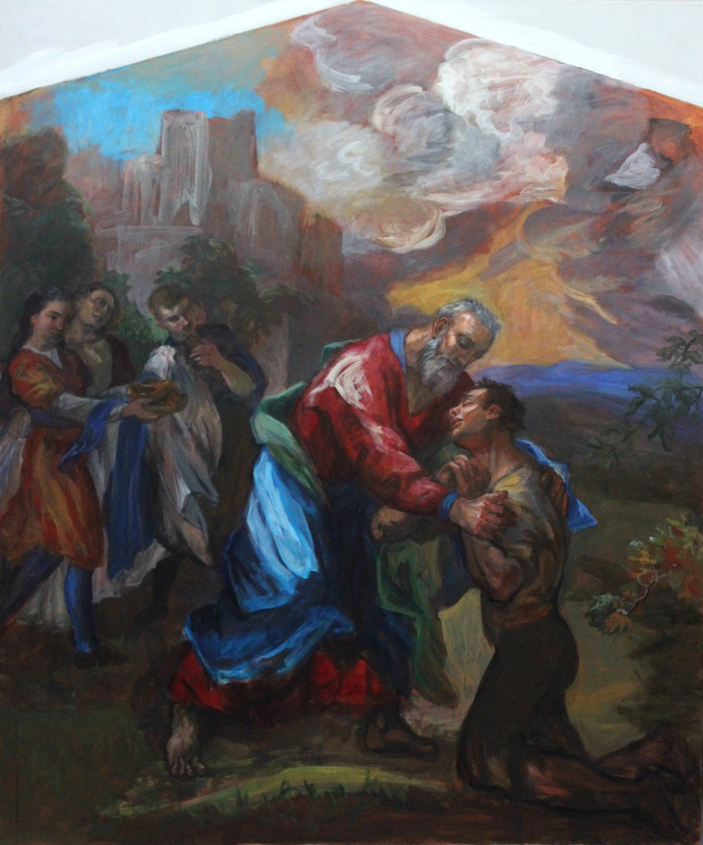 Return of the Prodigal Son (mural)