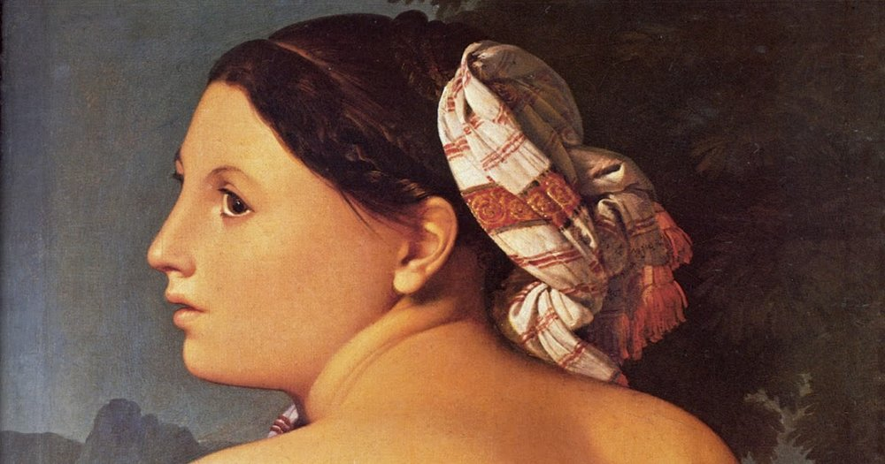 Jean-August-Dominique Ingres - Half Figure of a Bather 1807.jpg