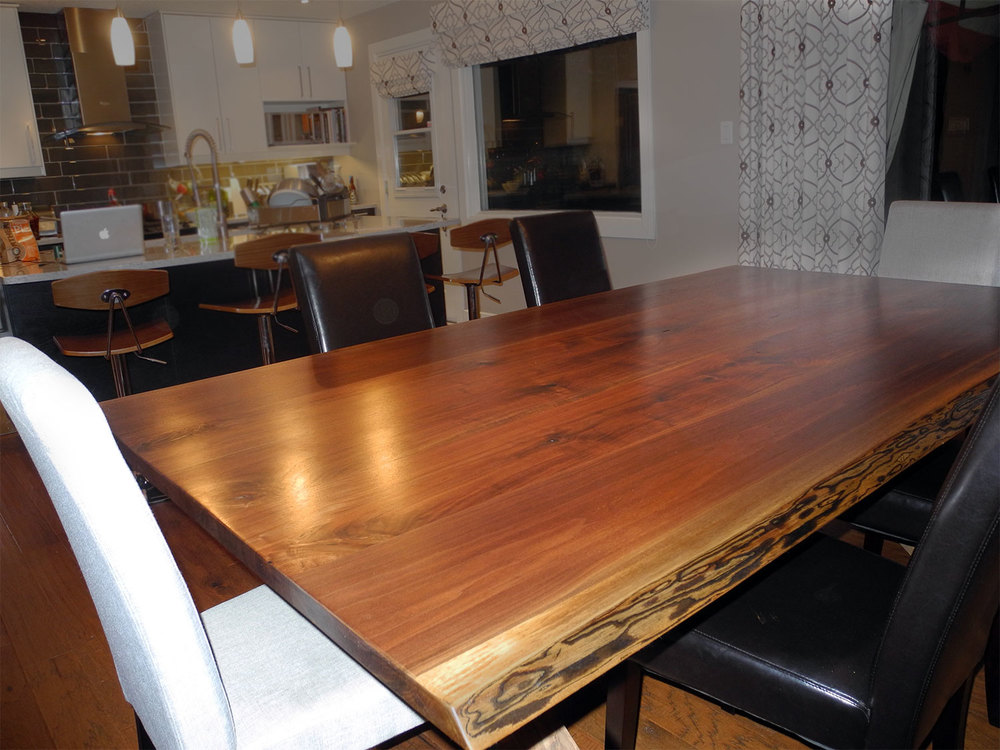 Dining Room Tables Live Edge Forest