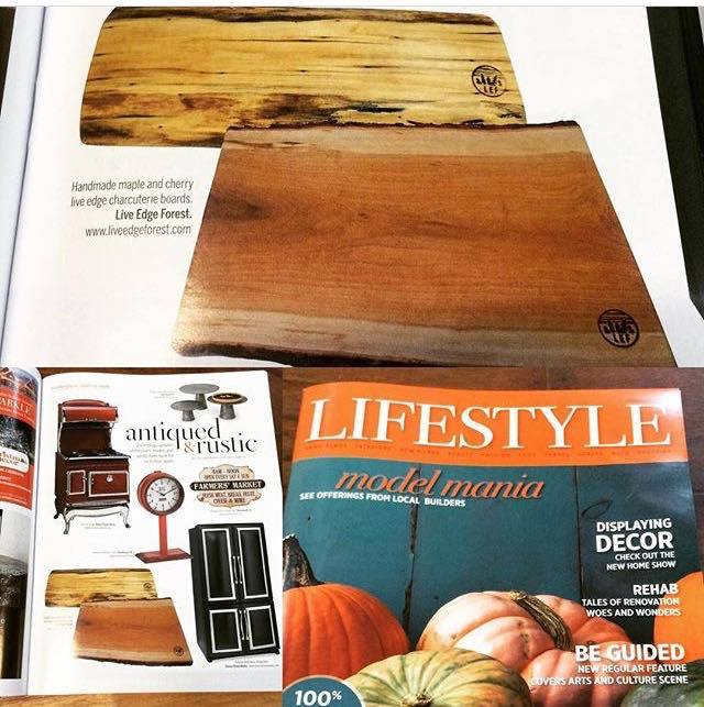 LEF boards featured in Lifestyle Magazine