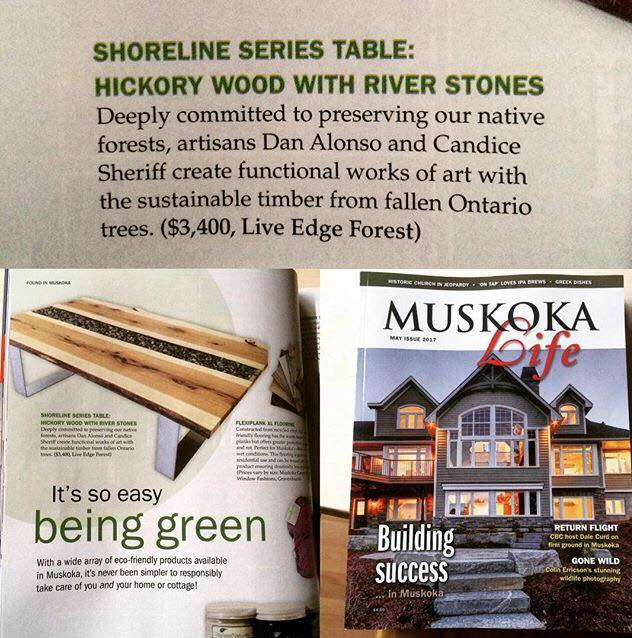 'Green' feature in Muskoka Life Magazine