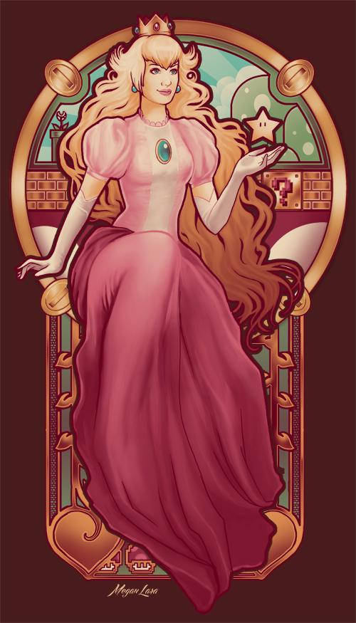 Princess Toadstool Nouveau