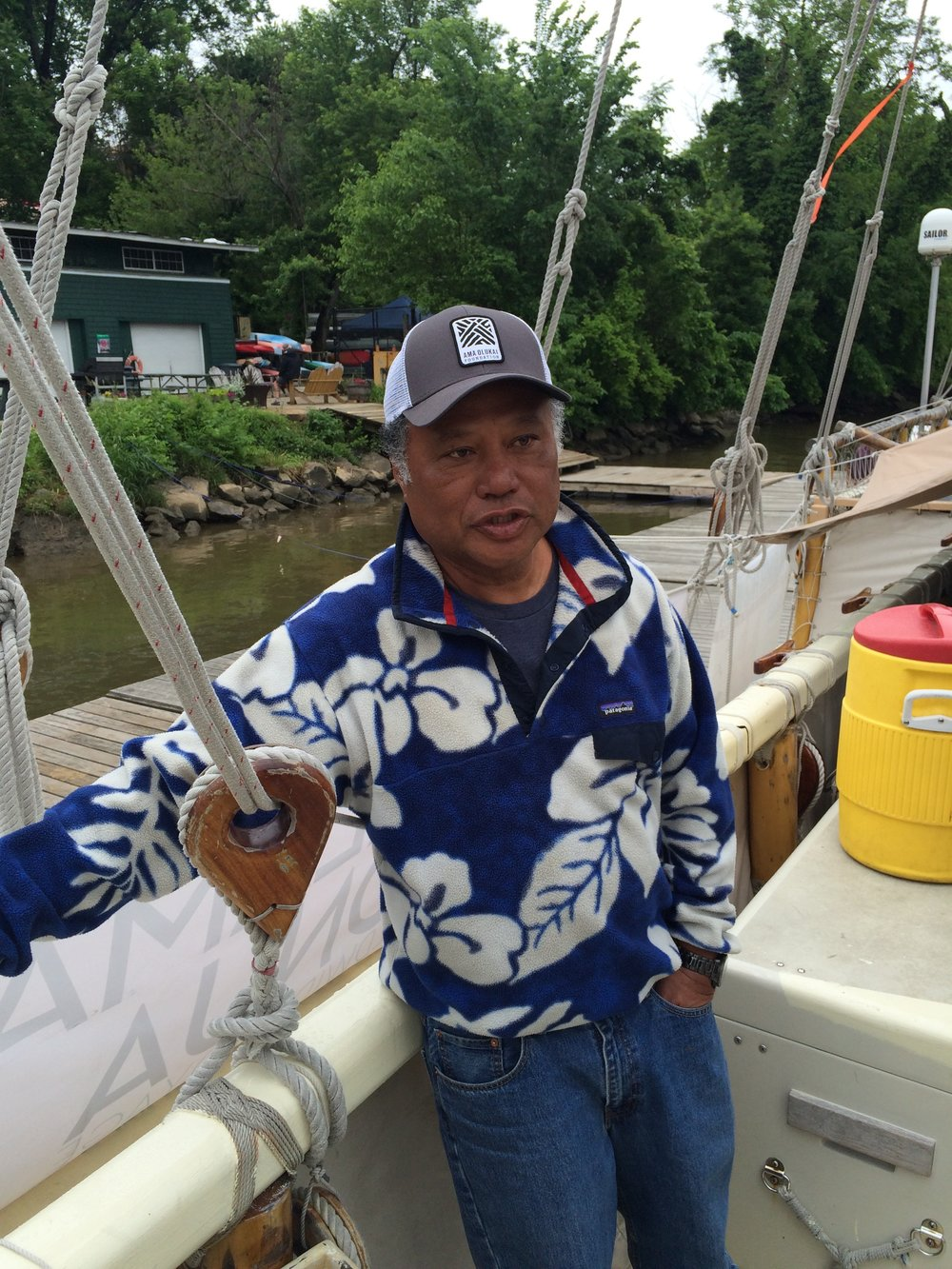 Pwo Navigator Chad Baybayan reflects on the historic voyage onboard the Hokule'a