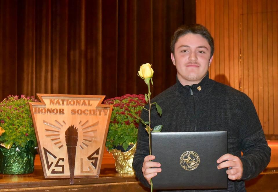 Ricky Ortega, 11th grade