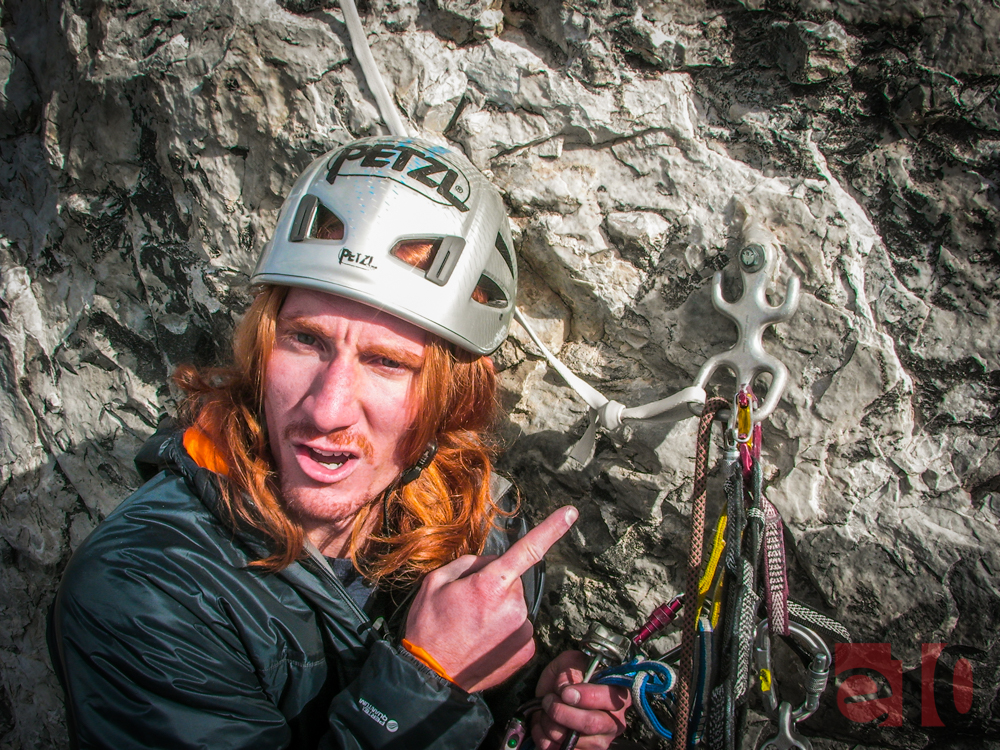 The craziest anchors we've ever seen and used to rappel.