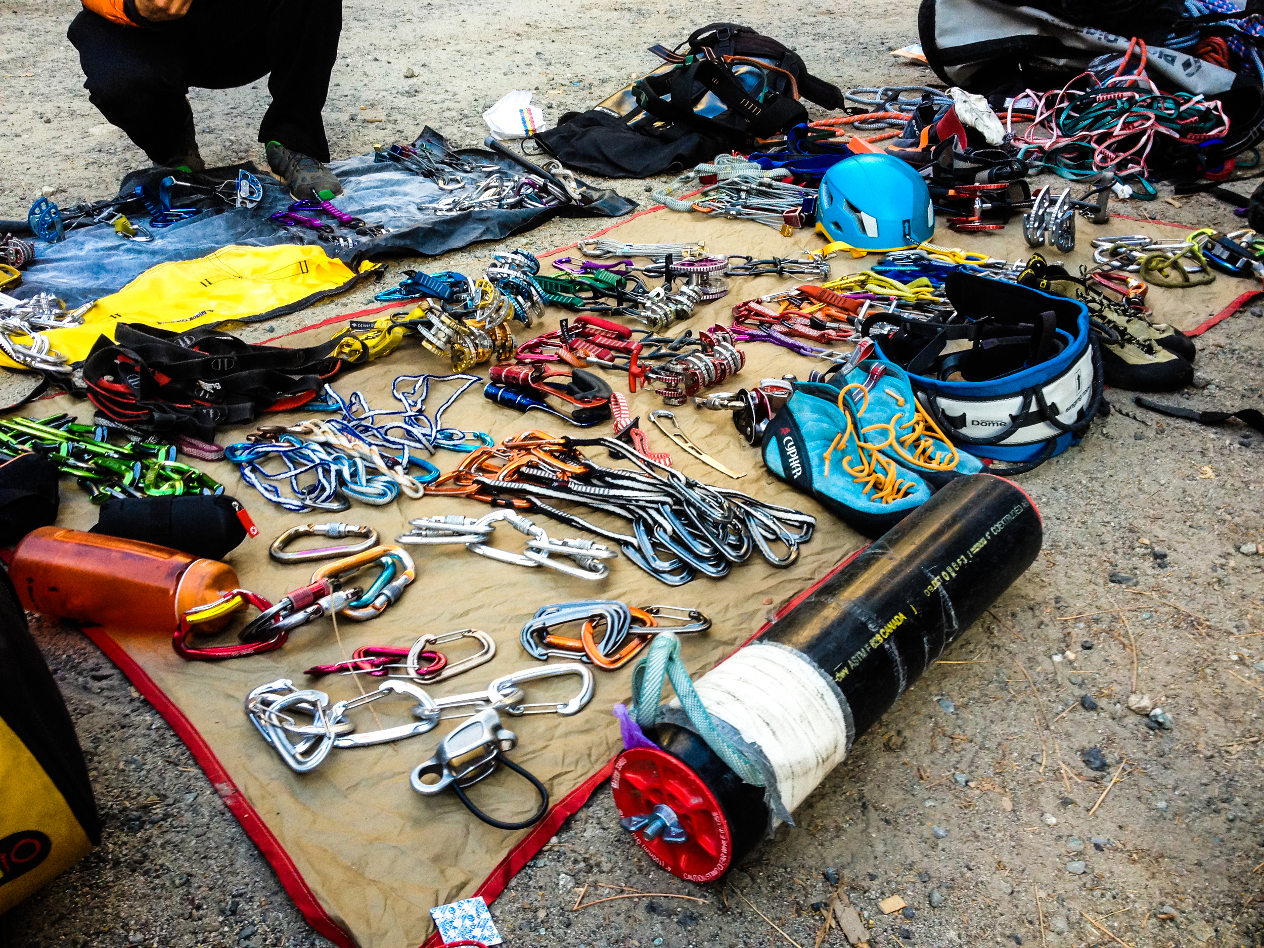 Big Wall Pictures Part - 34: The Gear For Big Wall Climbing