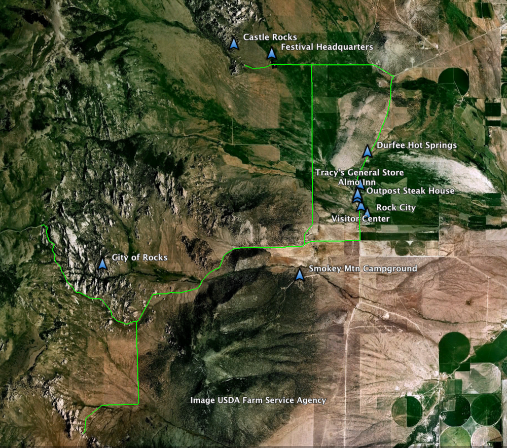 General Overview Map