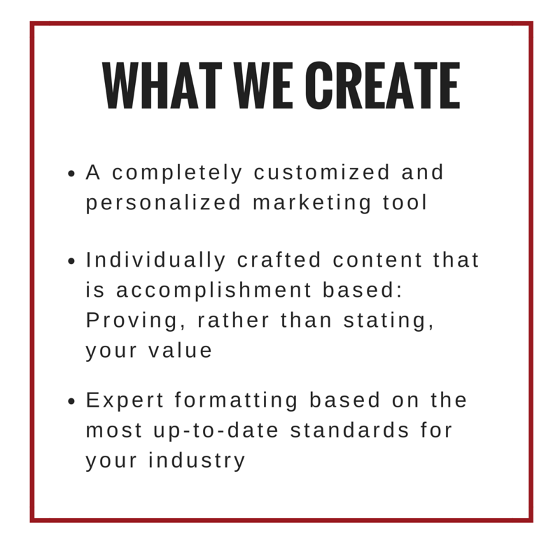 What we create