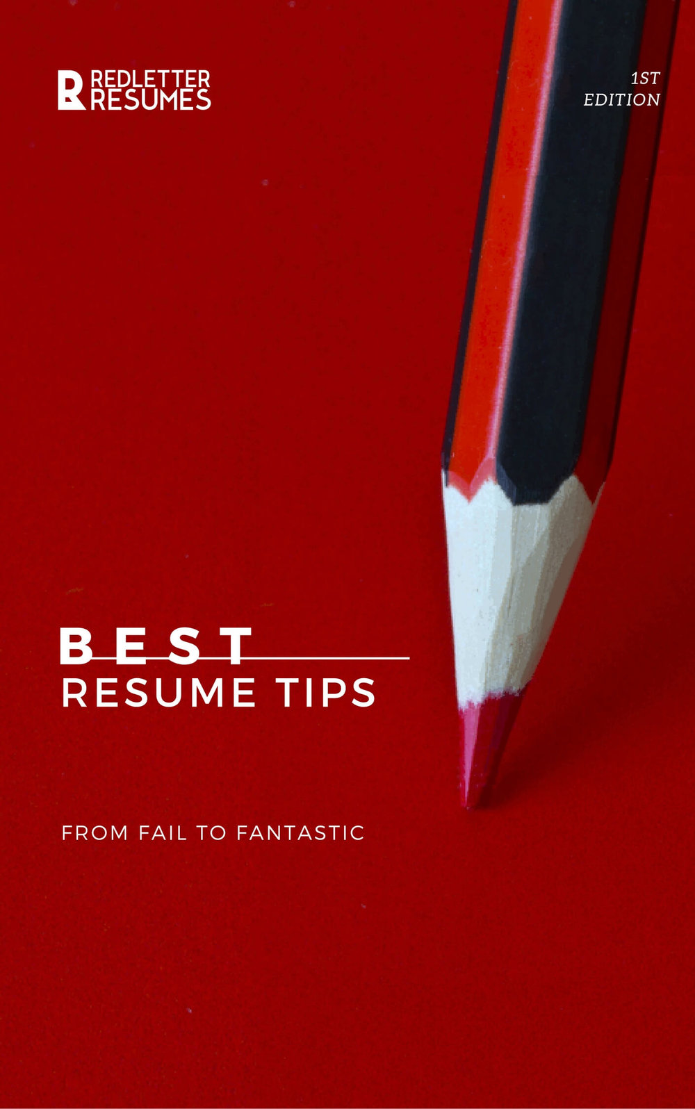 Best Resume Tips Ebook Write The Perfect Resume Red Letter