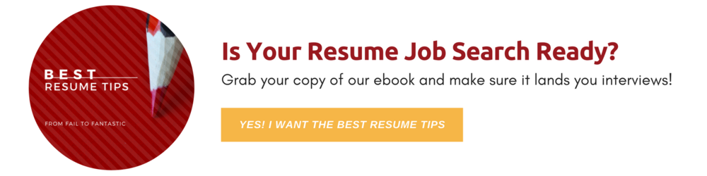 Is your resume job search ready? Get our ebook. // Best Resume Tips // Red Letter Resumes