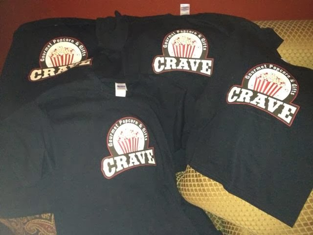 and shirts!  we have shirts!  but just for the 4 of us!  if you want a shirt...ask me in 6 months ;-)