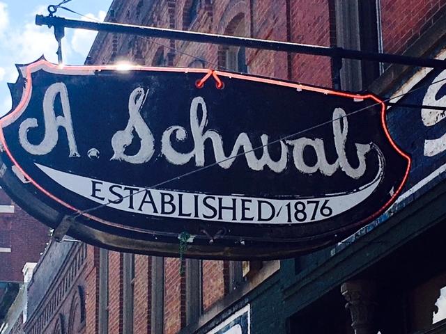 A. Schwab's  is the oldest store still open on Beale street.
