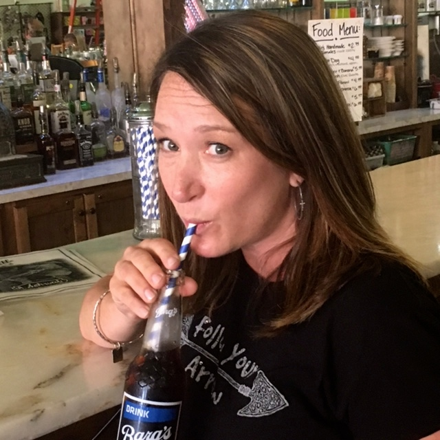 """Sippin' ice cold Barg's root beer and singing along to """"My girl"""" was dreamy to me."""
