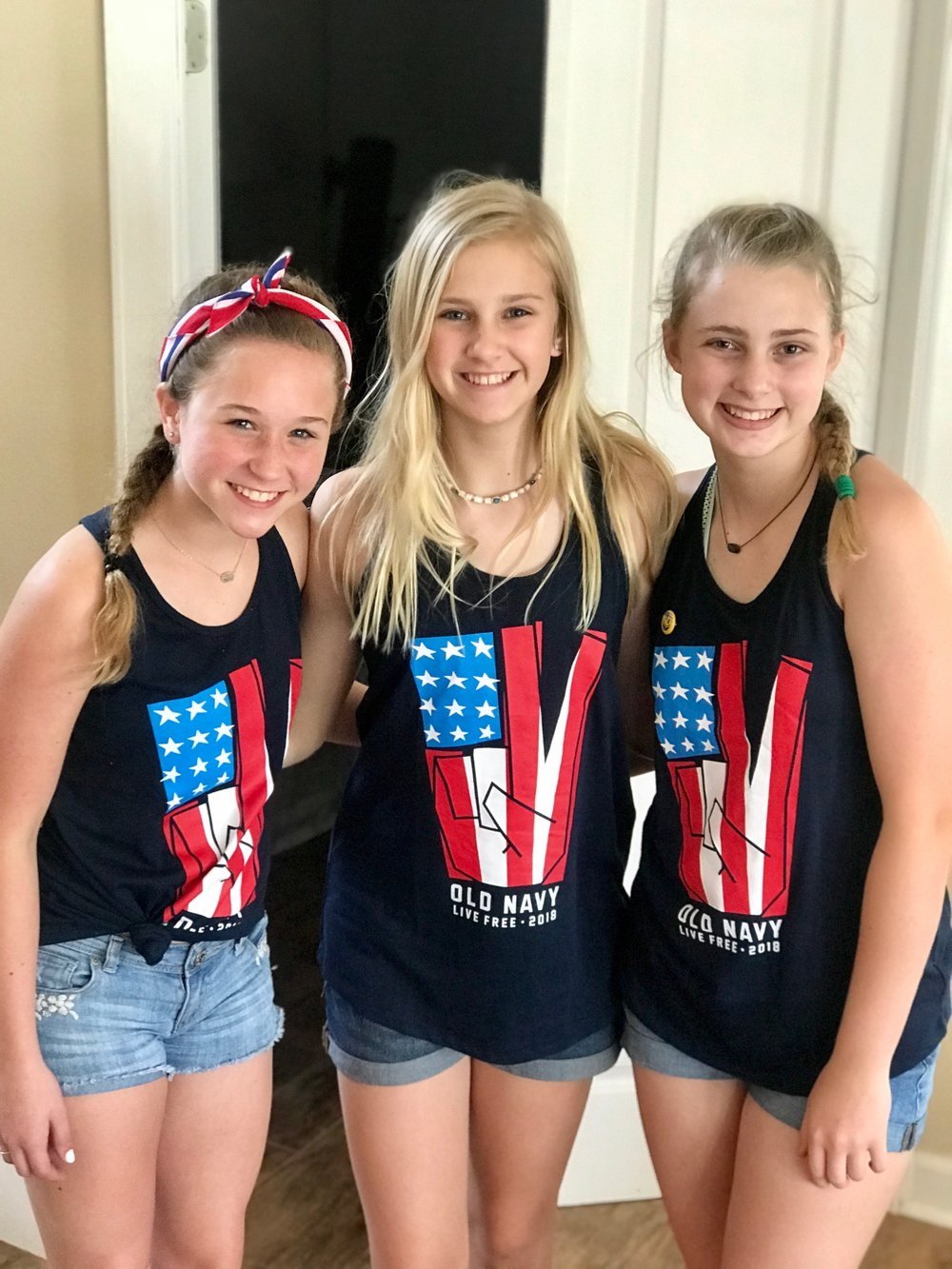 These girls have been friends since they were babies. Love their hearts and their friendship.