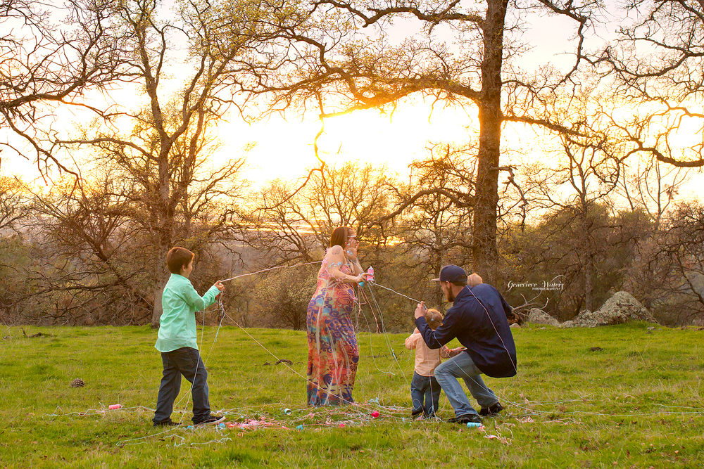 Oroville Photographer | Family Pictures | Gender Reveal