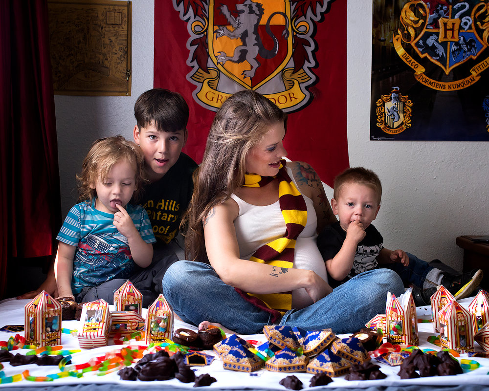Harry Potter Pregnancy reveal, Oroville photography  (15).jpg