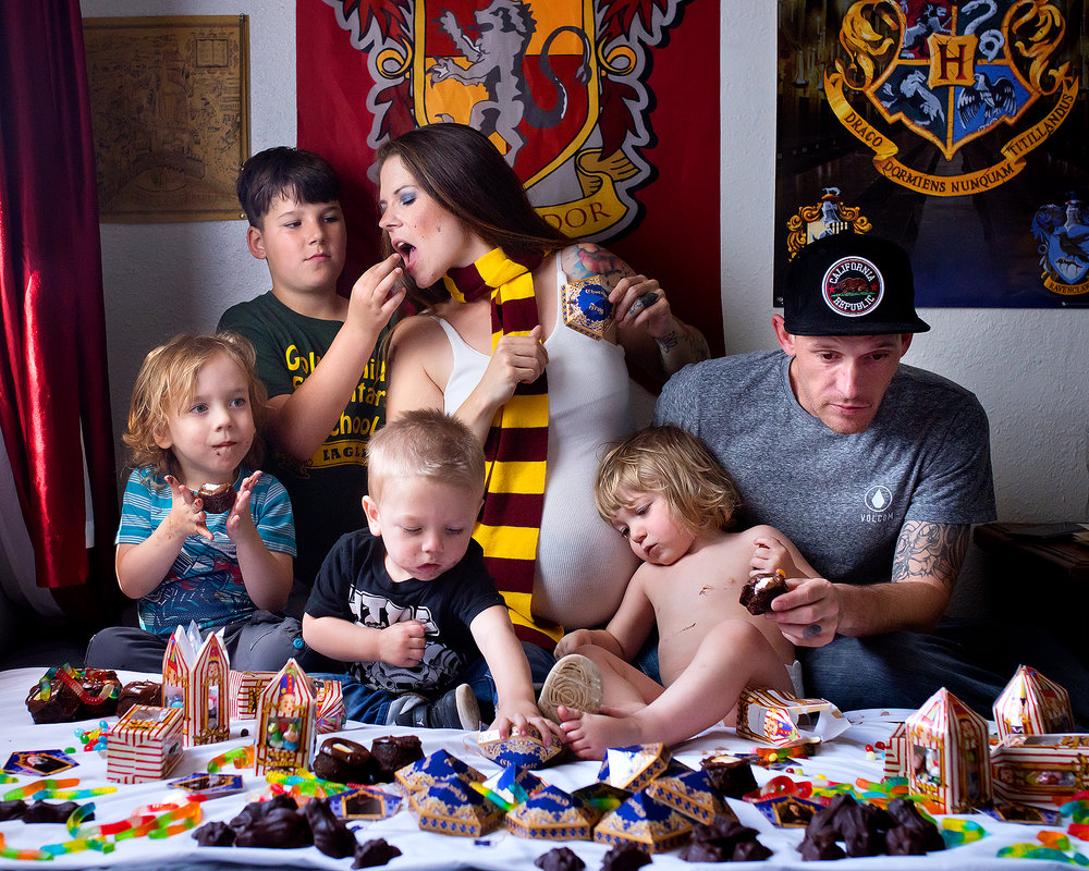 Harry Potter Pregnancy reveal, Oroville photography  (29).jpg