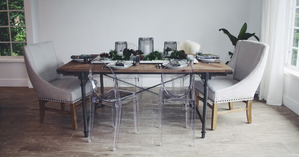 dining table styling - the habitat collective - www.thehabco.com
