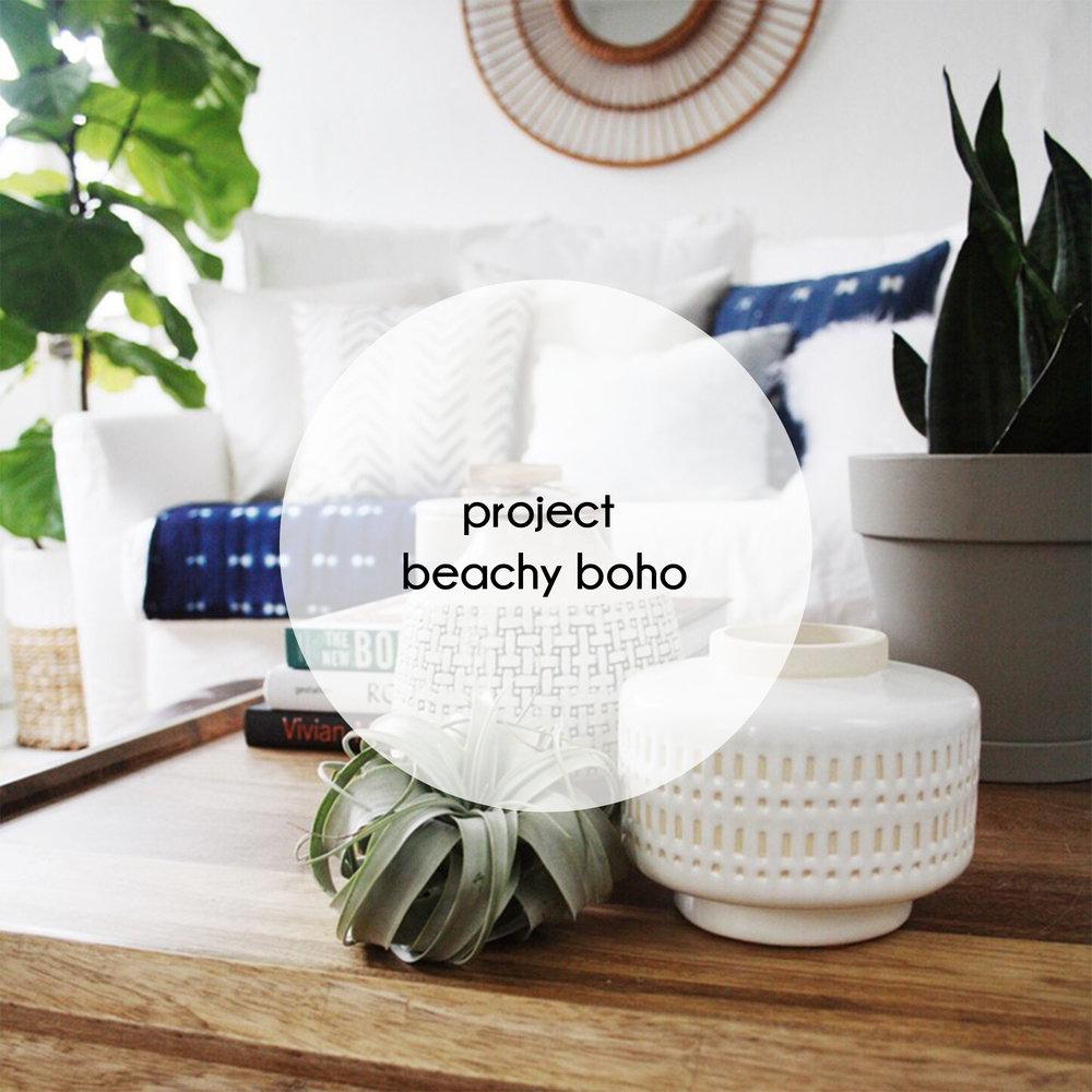 button project beachy boho