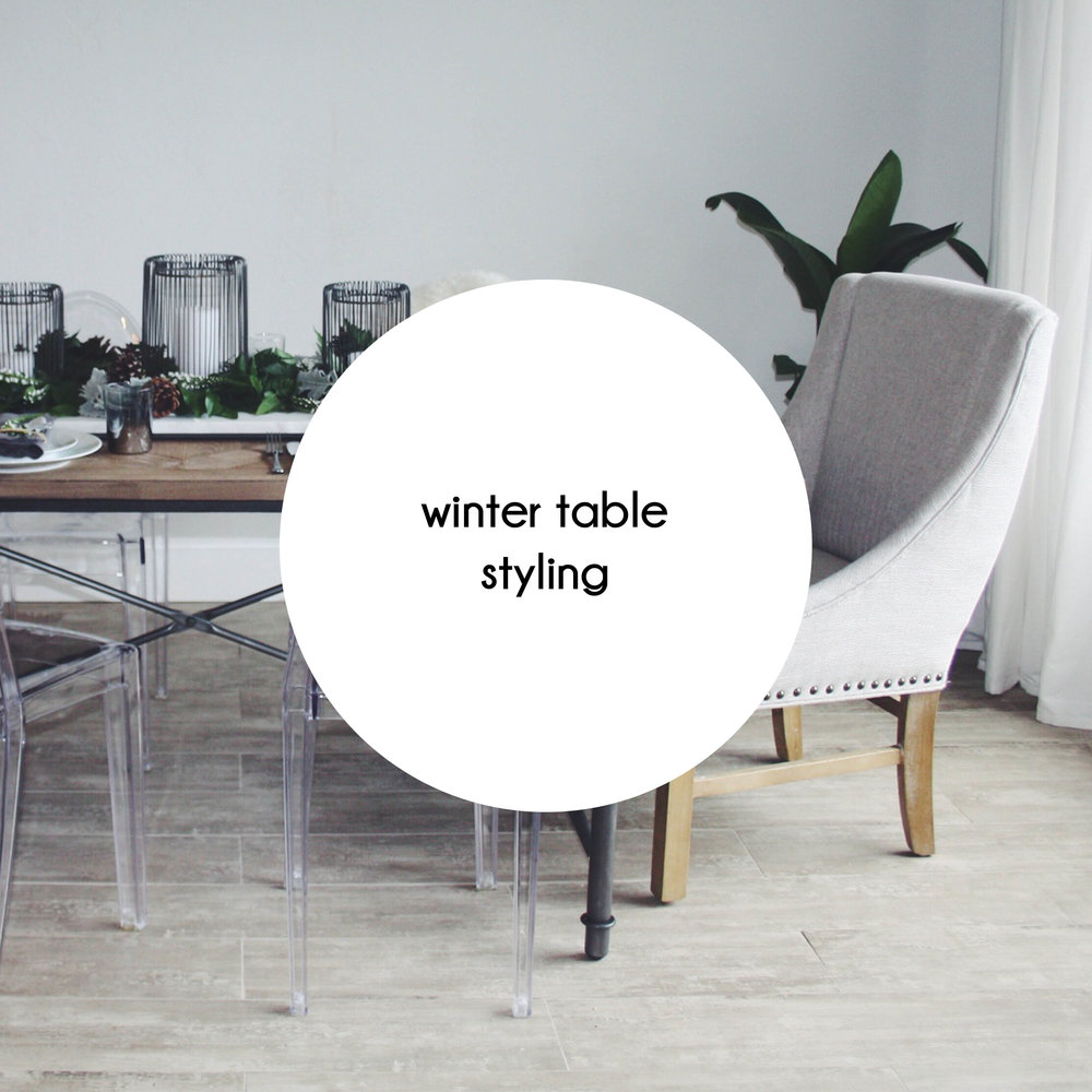 button winter table styling mouseover
